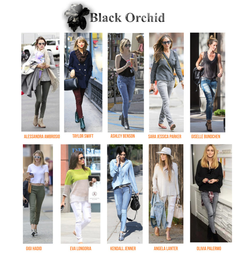 CELEBRITIES BLACK ORCHID